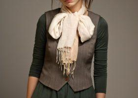 Différents types d'écharpes pour différents styles.