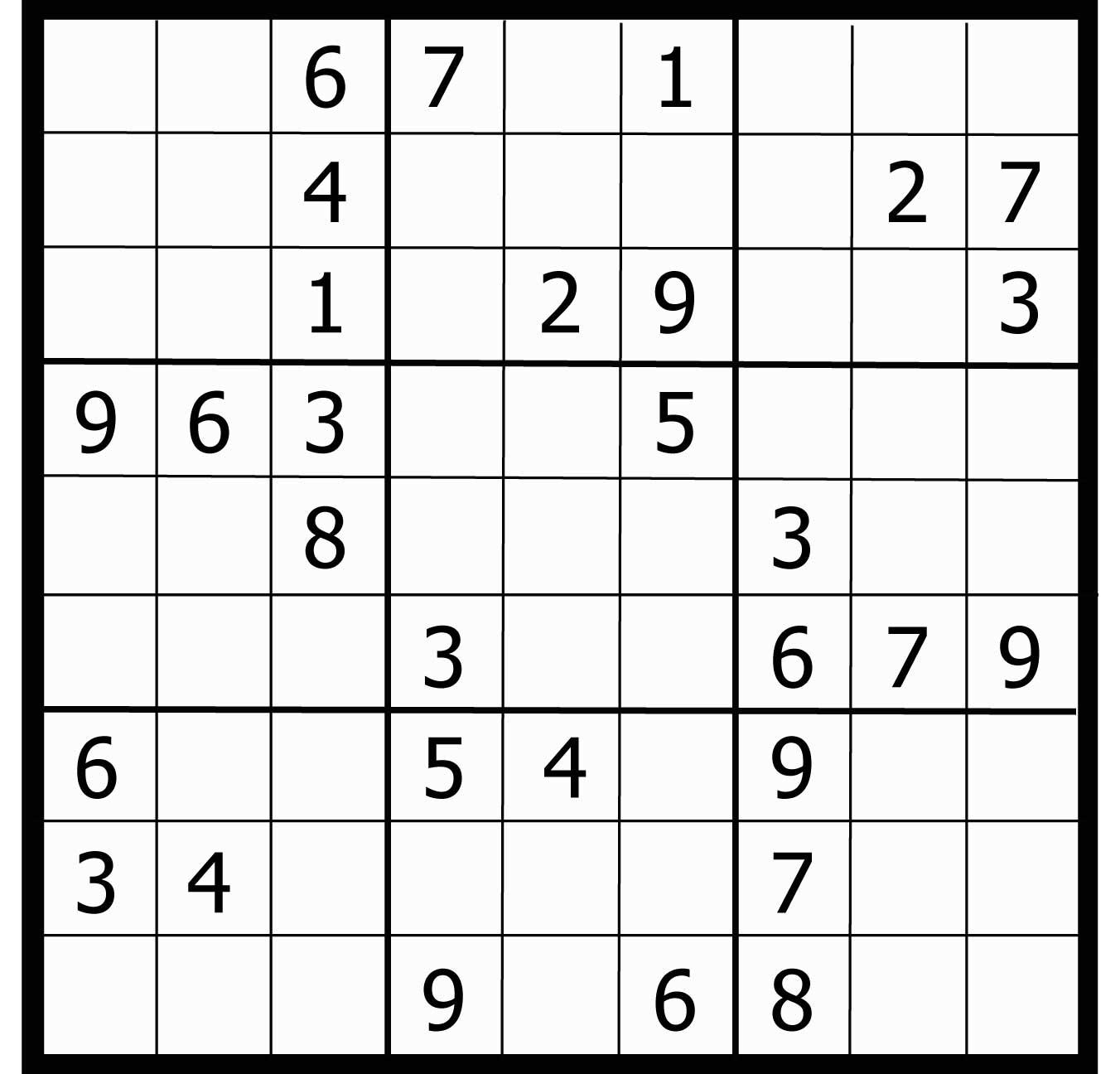 Sudoku gratuit je l 39 emm ne en voyage avec moi - Grille de sudoku diabolique ...