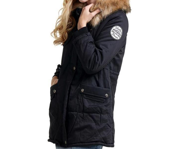 manteau femme parka