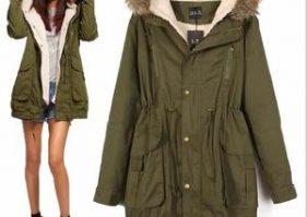Manteau parka femme