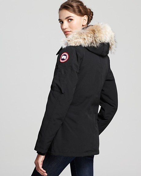 parka canadienne femme
