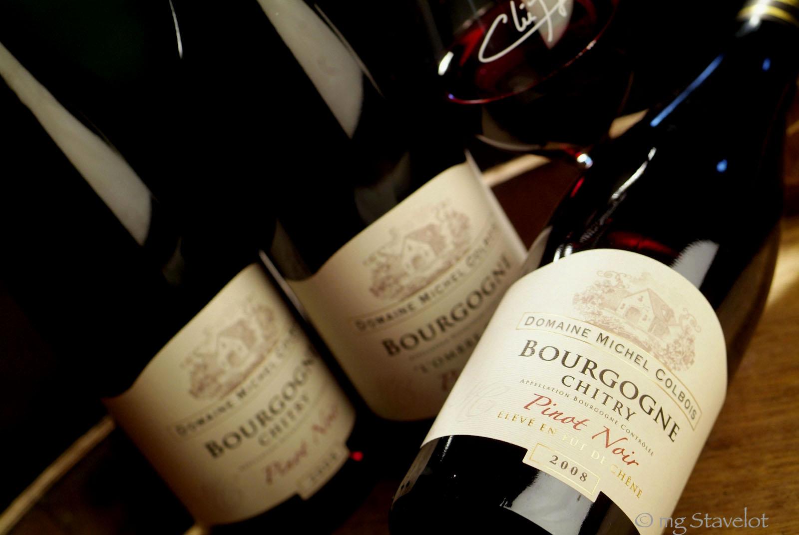 Vin Bourgogne, celui qui me plaît le plus