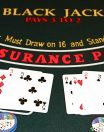 Blackjack : les règles principales